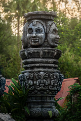 Ancient Hindu Relic (tltichy) Tags: asian ancient ruins florida resort wdw waltdisneyworld themepark magickingdom junglecruise adventureland stutue may2015