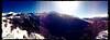 Panoramica sulla Valle dell'Orfento innevata - Vista da Piana Grande - Caramanico Terme (PE) Abruzzo - Italy
