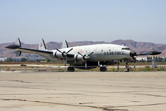 Yanks Connie at Chino (atg3v) Tags: lockheed constellation ec121t ec121 warningstar connie chino cno kcno usa california 53548 rc121d masdc pima camarillo yanksairmuseum yanks usaf preserved airliner homestead n548gf