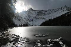 A Fall trip to Rawson Lake Alberta Canada (davebloggs007) Tags: rawson lake alberta canada fall 2016 plpp kananaskis snow ice