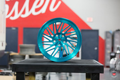 Vossen Forged- LC Series LC-105T - Deco Teal - 48932 -  Vossen Wheels 2016 -  1003 (VossenWheels) Tags: brushed decoteal forged forgedwheels lc lcseries lc105t madeinmiami madeinusa vossenforged vossenforgedwheels vossenwheels2016