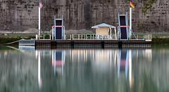 Floating Dock, Tiber, Rome (dav fan) Tags: floating dock tiber rome