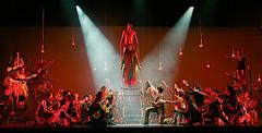 Children Of Eden (czolacz) Tags: god theater bca hackensack school high musicals schwartz lighting strum new jersey