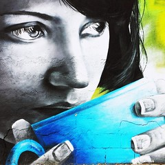 she could steal but she could not rob (Toni F.) Tags: graffiti streetart valncia tonif songlyrics thebeatles