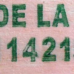 1421 (Navi-Gator) Tags: 1421 number odd