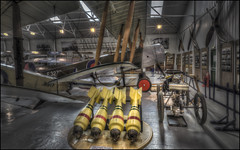 The Shuttleworth Collection 18 (Darwinsgift) Tags: shuttleworth collection museum aviation flight vintage aircraft planes nikkor 20mm f18 g hdr photomatix old warden world war 1 one bombs warbird