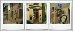 Butte aux Cailles, Paris (@necDOT) Tags: paris13 paris butteauxcailles streetart graffiti misstic zabou triptyque triptych montage