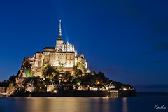 Mont Saint Michel (Juju de Tonnay) Tags: mont saint michel quinoxe mare night nuit long exposure exposition longue