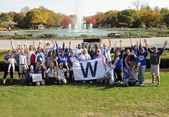 GAME 7 for the Cubs! ⚾️ Repost @brookfieldzoo ・・・ We believe #GoCubsGo #FlytheW (riverside.illinois) Tags: instagramapp square squareformat iphoneography uploaded:by=instagram riverside riversideillinois chicago chicagosuburbs fall suburbs 2016
