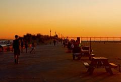 Beach Boardwalk Michigan City Indiana IMG_8826 (www.cemillerphotography.com) Tags: washingtonpark gambling sundown dusk recreation evening midwest