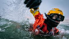 Rescue Swimmer (justinbastien) Tags: alaska kodiak uscg redbull redbulletinmagazine rescueswimmers