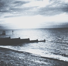 (lucycooper4) Tags: beach kent whitstable sky sunset sea nature