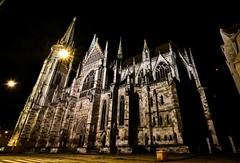 Regensburger Dom St. Peter (Beginner1970) Tags: nikon nacht dom regensburg kirche