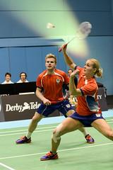 NBLmatch-5100-0485 (University of Derby) Tags: 5100 badminton nbl sportscentre universityofderby match