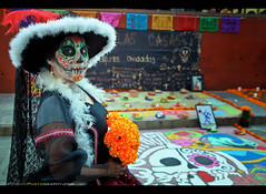Day of the Dead 2016 - San Miguel de Allende, Mexico (Sam Antonio Photography) Tags: sanmigueldeallende mexico samantoniophotography holiday background dia los mexican white muertos death catrina skull dead day halloween festival decoration female girl portrait scary paint makeup traditional november folklore culture horror tattoo celebration sugarskull dayofthedead carnival beauty magic oneperson nightmare conceptual mexicanculture katrina gothic dangerous diadelosmuertos youngwoman zombie