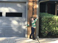 hugging the house goodbye (The Spohrs Are Multiplying...) Tags: fixer upper