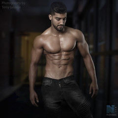 Rohan Verma NFM (TerryGeorge.) Tags: rohan verma nfm natural fitness models abs six pack muscle toned athletic sexy male shirtless underwear model ripped