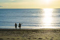 DSC_1474 (Kaloyan Cholakov) Tags: aberystwyth seaside people silhouette sea sunshine sun
