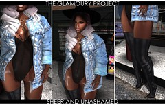 .Sheer And Unashamed. (THE GLAMOURY PROJECT) Tags: treschic sabotage liaison collaborative epiphany gos americanbeauty boldbeauty phedora ovh