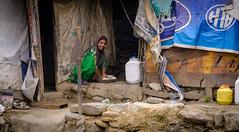 Kullu's Slum (Ash and Debris) Tags: ghetto kullu street people city emotion slum urbanlife streetlife kulu urban india woman life emotions indians poor