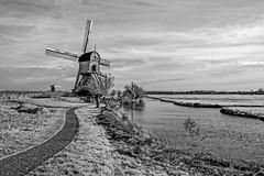 De Blokker, Kinderdijk (Roland B43) Tags: windmill deblokker kinderdijk netherlands water polders unesco pentaxsmc28mm20 vintagelens
