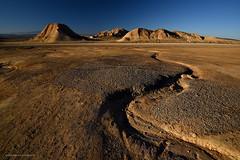 Bardenas .......... primeras luces (Anpegom fotografía) Tags: bardenasreales arguedas navarra parajenatural arcilla yeso arenisca erosión reservadelabiosfera arido
