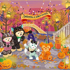 []LINE01 (sutaemon) Tags: sticker message   disney duffy halloween