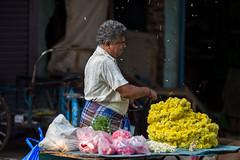 flowers (rameshsar) Tags: 13mm 6d chennaiwalk triplicane canon market flowers colors india