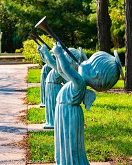 Trumpeting Our Arrival (Kuby!) Tags: kubitschek kuby nikon d810 october 2016 carthage missouri mo precious moments chapel gift shop displays