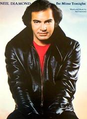 Neil Diamond Be Mine Tonight (musicloverdiamond) Tags: neildiamond beminetonight onthewaytothesky covers single 45 1981