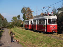 WStW 110+1810 (jvr440) Tags: tram strassenbahn elektrische museumtramlijn amsterdam ema amstelveen bovenkerk wstw wiener stadtwerke 110 1810 grosraumwagen