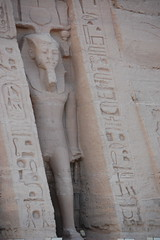 Statue at Temple of Nefertari - Abu Simbal (gilmorem76) Tags: egypt egyptian egyptology nefertari ramses abu simbal temple ancient hieroglyphs history archeaology travel tourism