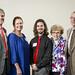 2016 Endowment Dinner (l to r): Chuck Stuber, Janet Stuber, Devin Brenton, Marilyn Stuber, Charles Stuber
