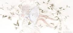 ".""what if I fall?"" ""oh, my darling, what if you fly?"". (JasmineStardust) Tags: moon amore stardust yukiko yuki yukino chapter four breathe shoes anc catwa maitreya girl magical dreamy pose miu marketplace event beautiful dress white hair"