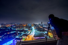 Velocity Tower, Sheffield - Oct. '16 (Craig Skinner - www.craigskinnerphotography.co.uk) Tags: sheffield southyorkshire yorkshire rooftop rooftopping trespass ue urbanexploration urbex nikon cityscape tokina 1116mm photographer stpauls charter row