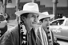 festival (sophs123.) Tags: cuzco cusco festival peru south america latin latinoamerica sudamerica bw blackandwhite man portrait tradition travel summer canon canon400d