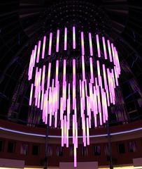 Heuvel Eindhoven Glow 2016 (ToJoLa) Tags: 2016 eindhoven eindhovenglow2016 lichtstad lichtfestival herst licht kleuren heuvel winkelcentrum pink