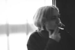 M (Zesk MF) Tags: smoke smoking life living girl woman people street light outdoor zesk zigarette taste portrait highiso nikon sigma 50mm 14 nightshot night nachts rauchen