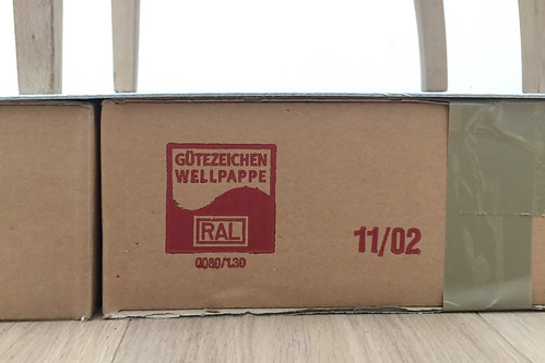 Gütezeichen Wellpappe