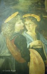 Firenze - Galleria degli Uffizi (Fontaines de Rome) Tags: firenze florence galleriadegliuffizi gallera uffizi battesimodicristo battesimo cristo verrocchio leonardodavinci leonardo vinci