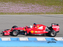 S. Vettel - FERRARI (RABIIT) Tags: test f1 sauber red bull toro rosso ferrari vettel sainz rosberg jerez rabiit