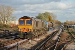 3W74 66726 TNT 66730 Tonbridge W Yard - Tonbridge  W Yard (Adam McMillan Railway Photography) Tags: 66726 seen approaching paddock wood with 3w74 tonbridge yard via east 66730 rhtt loco gbrf