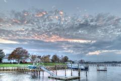 Dock View (aka Buddy) Tags: 2016 fall sunset navesink river fairhaven nj og hdr