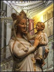La Virgen Blanca en el Coro de la Catedral de Tole (Anne O.) Tags: 2012 kastilienlamancha patrimoniodelahumanidad spanien toledo panoramio695484778490432