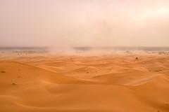 Sand storm (antonin.verley) Tags: sand storm sahara desert landscape travel travelphoto photography photo maroc morocco dune