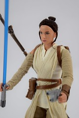 Star Wars Elite Series Rey Premium Action Figure - Disney Store Purchase - Deboxed - Freestanding - Midrange Right Front View (drj1828) Tags: starwars theforceawakens rey figure actionfigure purchase disneystore eliteseries premium posable 10inch deboxed freestanding
