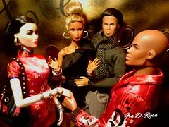 """they look so good together"" (krixxxmonroe) Tags: ira d ryan photography krixx monroe styling nu face dominique ayumi fashion royalty damon super model tobias"
