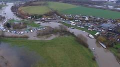 Redhill Marina (Sam Tait) Tags: redhill marina river soar flood 2016 winter november dji phantom 3 standard