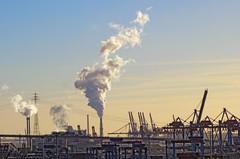 - (txmx 2) Tags: hamburg hafen harbour crane steam industry sky whitetagsrobottags whitetagsspamtags