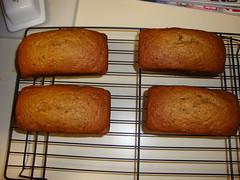 Pumpkin Bread Loaves. (dccradio) Tags: lumberton nc northcarolina robesoncounty food eat quickbread pumpkinbread fresh homemade pumpkin coolingrack cooling sweets treats